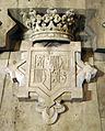 37 Escut de Santa Fe, de Lluís Ferreri, Monument a Colom.jpg