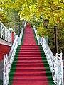 3894. Псково - Печорский монастырь. Парадная лестница.jpg