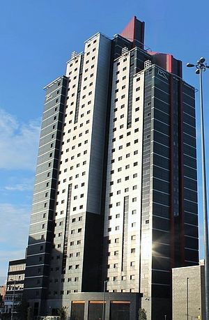 University of Leeds accommodation - clv Leeds at the Opal Tower / Opal 3, Leeds