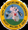 42d Air Refueling Squadron - SAC KC-97 - Emblem.png
