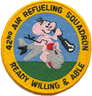 42d Air Refueling Squadron - KC-97 era emblem