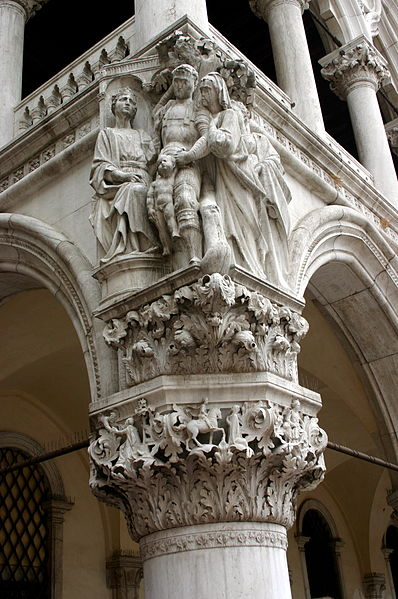 File:4392 - Venezia - Pietro Lamberti o Nanni di Bartolo, Giudizio di Salomone - Foto Giovanni Dall'Orto, 8-Aug-2007.jpg