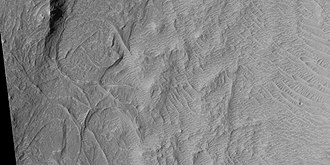 Linear ridge networks - Image: 45992 1780curvedridges