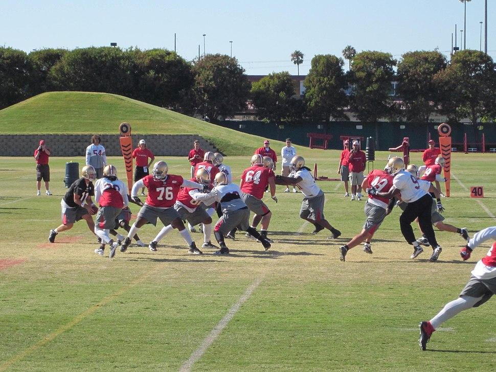 49ers training camp 2010-08-09 28