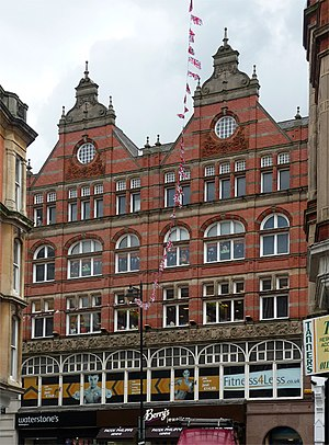 Gilbert Smith Doughty - Smart and Brown furnishers, 5-9 Bridlesmith Gate Nottingham 1895