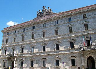 Province of Ascoli Piceno - Palazzo del Governo in Ascoli Piceno, the provincial seat.