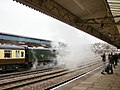 60019 Bittern exhausts steam at Newport Station - geograph.org.uk - 1606709.jpg