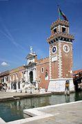 6314 - Venezia - Arsenale - Alessandro Tremignon (+ dopo 1711) - Ingresso di terra (1692-1694) - Foto Giovanni Dall'Orto - 4-Aug-2007.jpg