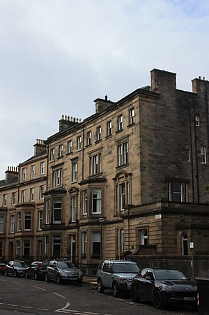 Andrew Murray, 1st Viscount Dunedin - 7 Rothesay Terrace, Edinburgh (right)