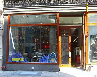 Forbidden Planet (bookstore) - The Forbidden Planet in Manhattan, New York, at 832 Broadway