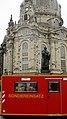 7. Internationaler Florianstag (Dresden) - Öffentlicher Festumzug der Feuerwehr Dresden - Altmarkt bis Neumarkt - ISO-Container vor der Frauenkirche - Bild 014.jpg