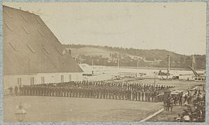 71st New York Infantry - In Washington during the Civil War
