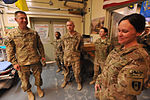 759th Forward Surgical Team (Airborne) Soldiers save the life of a Soldier injured during rocket attack 131010-Z-RK751-078.jpg