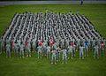 9th Engineer Battalion Casing of the Colors, Grafenwoehr, Germany, June 2011 2.jpg