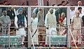 A.P.J. Abdul Kalam, the Prime Minister, Dr. Manmohan Singh, the Speaker, Lok Sabha.jpg