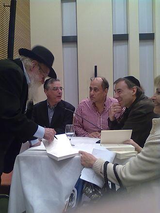 Adin Steinsaltz - Adin Steinsaltz in the Israelitische Cultusgemeinde Zürich (ICZ) in Zürich-Enge (2010)