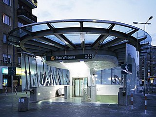 M1 (Warsaw) Metro line in Warsaw, Poland