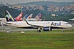 A320neo AZUL SBGR (32870342280).jpg