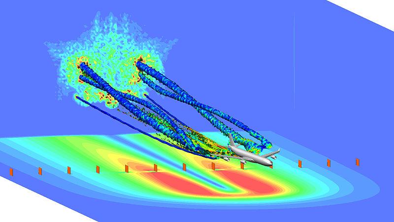 File:A340 wake turbulence simulation.jpg