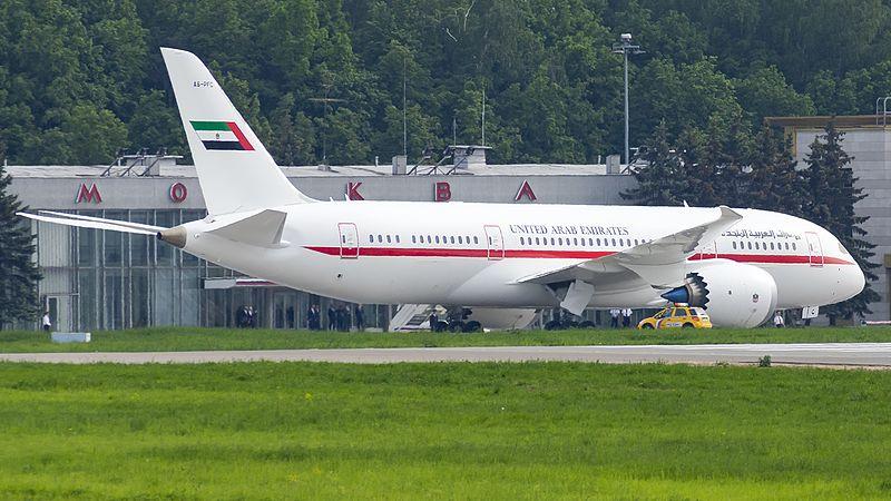 File:A6-PFC B788 Abu-Dhabi Amiri Flight VKO UUWW (33627746955).jpg