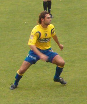 Andrés Fleurquin - Fleurquin playing for Cádiz