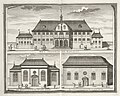 AMH-7245-KB Three views of buildings in Batavia.jpg