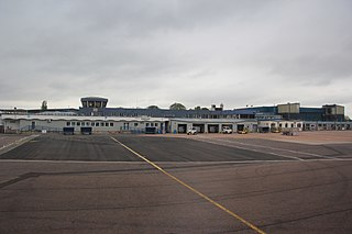 Exeter Airport Airport in Devon, South West England