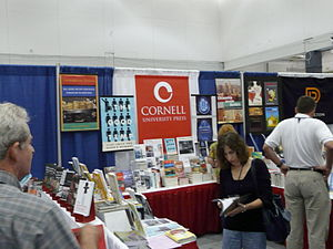Cornell University Press - 2008 conference booth