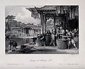 A Chinese silk manufactory; workers dyeing and winding the Wellcome V0025724.jpg