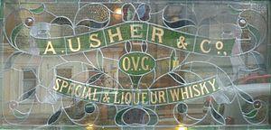 Andrew Usher - Image: A Usher & Co. window