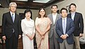 A delegation of Japanese Parliamentarian called on the Union Minister for Women and Child Development, Smt. Maneka Sanjay Gandhi, in New Delhi on July 25, 2014.jpg