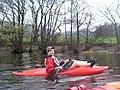 A kayaker resting on Ullswater - geograph.org.uk - 225729.jpg