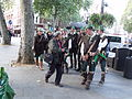 A man takes photos of a bunch of Robin Hoods (4029768945).jpg
