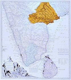 Golconda in 1733 CE.[1]