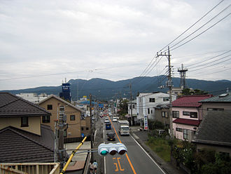 Gotemba, Shizuoka - A street in Gotemba