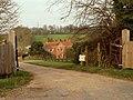 A view of Corney Bury Farm from Ermine Street - geograph.org.uk - 1246779.jpg