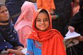 A young girl pictured at a mobile health clinic in Sindh, Pakistan (5367786022).jpg