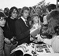 Aankomst Nederlands elftal in Hiltrup ( West Duitsland ) WK voetbal 1974 Neeske, Bestanddeelnr 927-2506.jpg