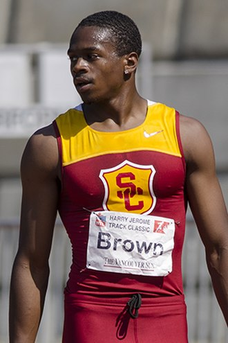Aaron Brown (sprinter) - Image: Aaron Brown
