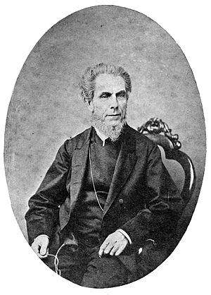 Aaron Buzacott - Rev. Aaron Buzacott the elder (c. 1860)