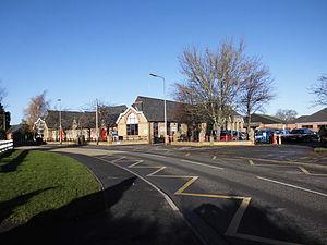 Bourne Abbey Church of England Academy - Image: Abbey Road School Geograph 3234613 by Bob Harvey