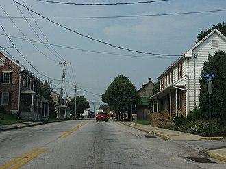 Abbottstown, Pennsylvania - U.S. Route 30 in Abbottstown