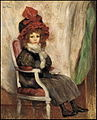Abel Faivre - A young girl seated.jpg