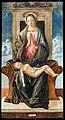 Accademia - Madonna in trono che adora il Bambino dormiente - Giovanni Bellini C.591.jpg