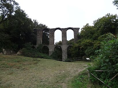 How to get to Canale Monterano with public transit - About the place
