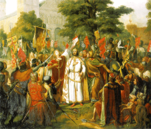 Raymond IV, Count of Toulouse - Raymond of Toulouse taking the oath to liberate Jerusalem