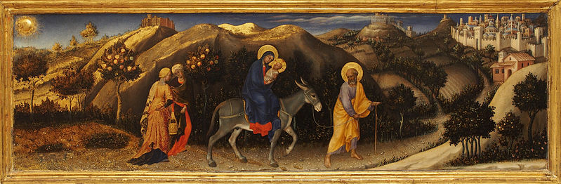 File:Adorazione dei Magi by Gentile da Fabriano - Predella.jpg