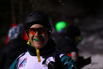 David Morris (skier) -  Australian Aerial Skier David Morris at the 2014 Lake Placid World Cup Event. Lake Placid, New York City.