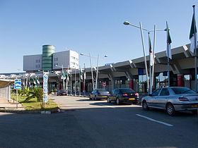 Carte Algerie Aeroports.Aeroport D Alger Houari Boumediene Wikipedia