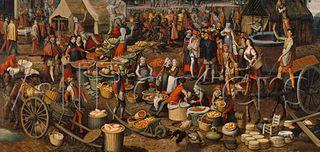 Market Scene (Fragment of An Ecce-homo)